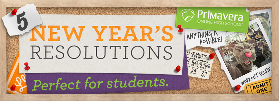 Five New Years Resolutions Perfect For Students