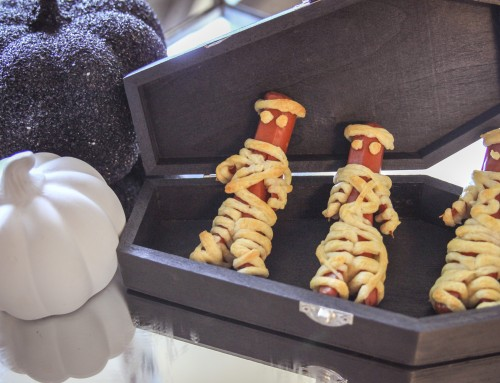 An easy after-school snack that's so spookily cute, you won't want to eat it