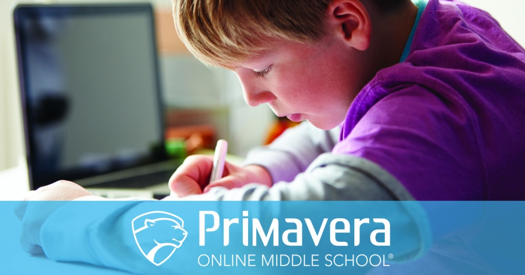 Primavera does, in fact, have an online middle school